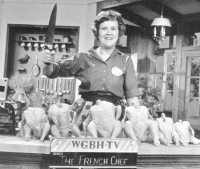 "Julia Child as ""The French Chef"""