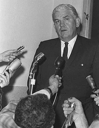 Dallas County Dist. Atty. Henry Wade. (Nov. 25, 1965)