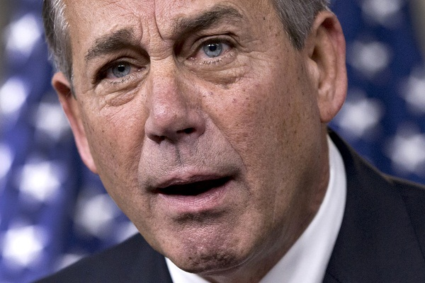 House Speaker John Boehner rebukes conservative groups who oppose the pending bipartisan budget compromise.