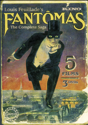 The promotional cover for 'Fantômas.'