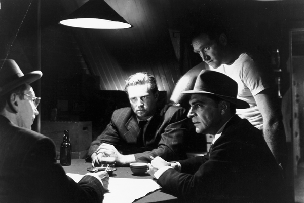 "A scene from ""The Asphalt Jungle."""