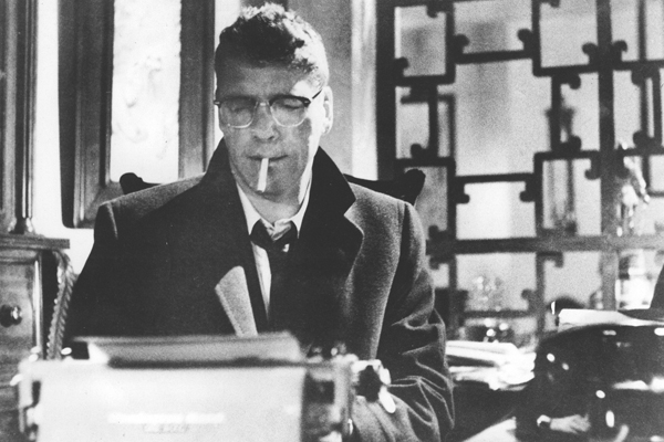 "Burt Lancaster in the film ""Sweet Smell of Success."""
