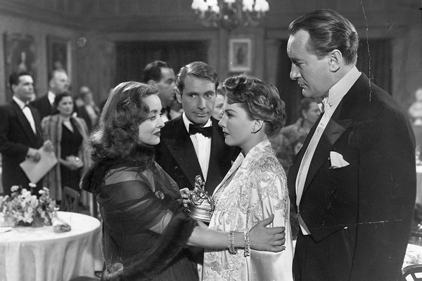 "A scene from ""All About Eve."""