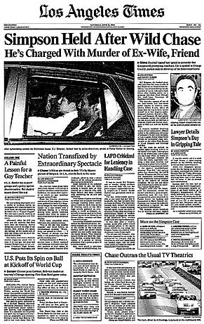 Image result for o j simpson arrested for murder
