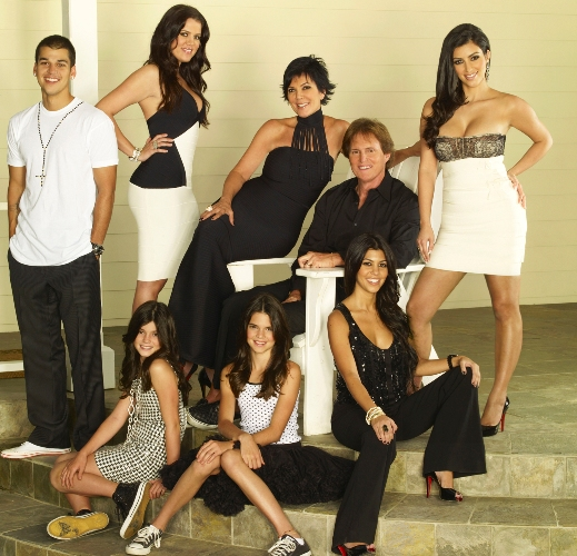 """Keeping Up With The Kardashians"" premieres on E! Network in 2007."