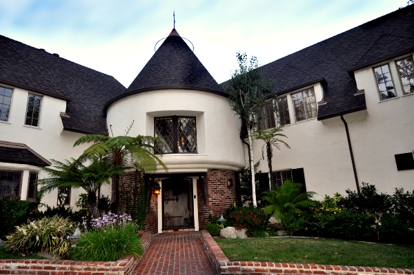 The Los Feliz home once owned by Walt Disney and where his daughter Diane Disney Miller spent her childhood.