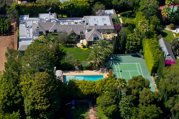 Madonna sold her Beverly Hills mansion $19.5 million.