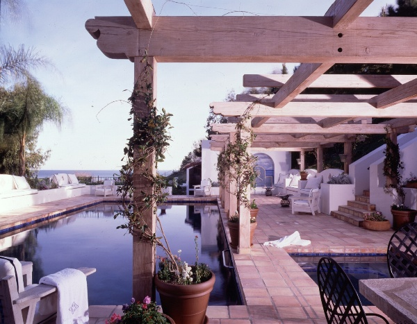 Dodi Fayed's Malibu home.