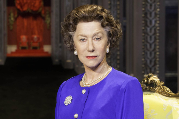 "Helen Mirren as Queen Elizabeth in the 2013 production of ""The Audience."""