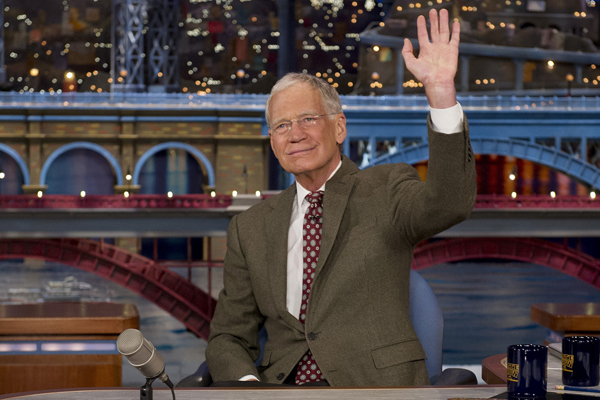"""Late Show"" host David Letterman"