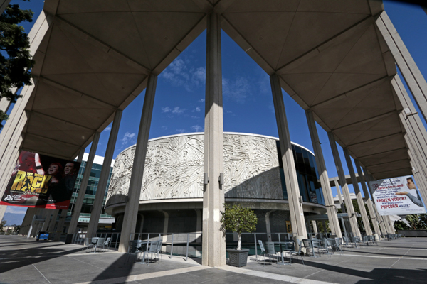 The Mark Taper Forum at the Music Center.