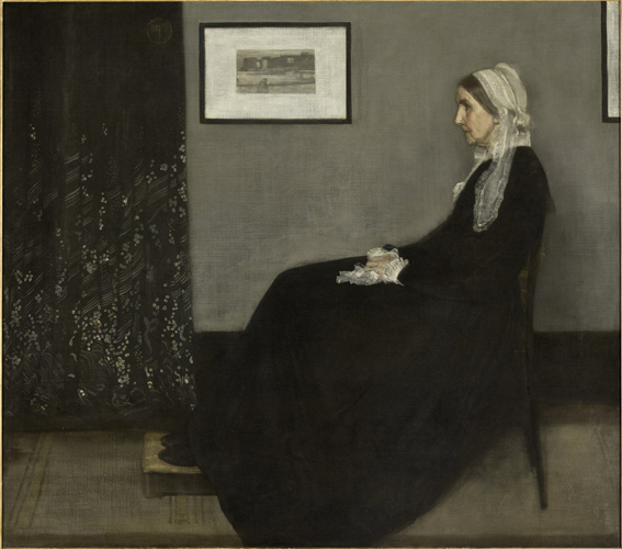 The Musée d'Orsay painting known as Whistler's Mother is part of the exchange of artwork between the Paris museum and the Norton Simon.