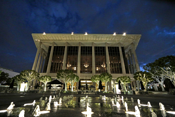 The Dorothy Chandler Pavilion is home to the L.A. Opera.