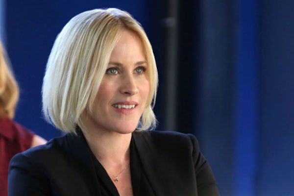 "Actress Patricia Arquette stars in ""CSI: Cyber."""