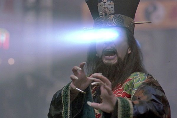 Lo Pan in 'Big Trouble in Little China' is not amused.