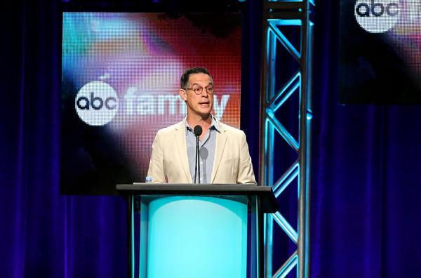 President of ABC Family Tom Ascheim onstage at the TCAs this summer.