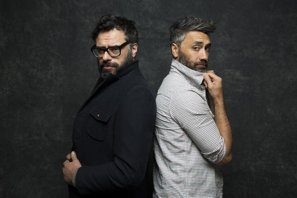 Jemaine Clement and Taika Waititi from 'What We Do in the Shadows.""
