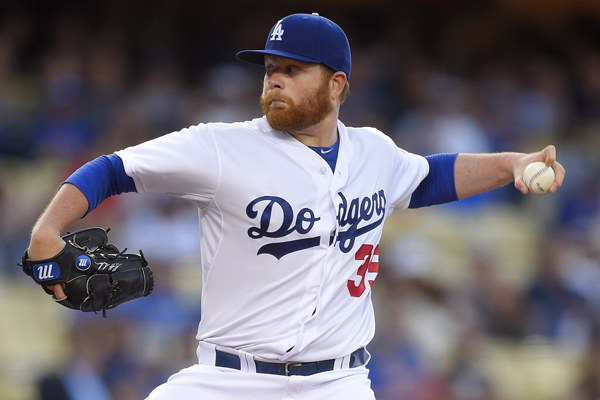 Dodgers starter Brett Anderson delivers a pitch during the first inning of the loss to the Cardinals.