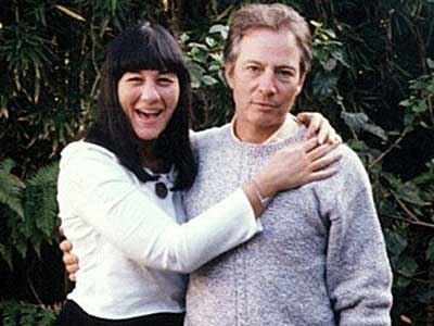 Writer Susan Berman and Robert Durst.