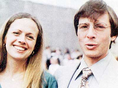 Kathleen Durst and her husband, Robert Durst.