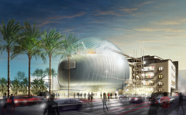 "March 2015 concept art for the planned <a href=""http://www.oscars.org/museum"" target=""_blank"">Academy of Motion Picture Arts and Sciences museum</a>.