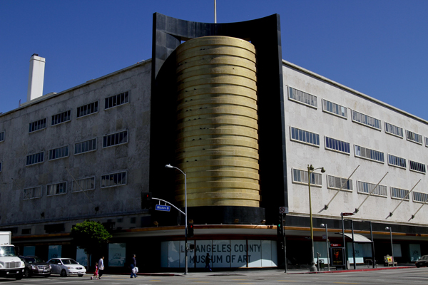 The former May Co. building, acquired by LACMA in 1994, is photographed in 2011.