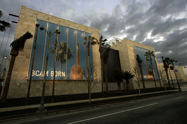 The new Broad Contemporary Art Museum on Wilshire Boulevard.