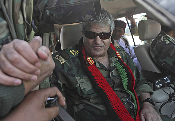 Gen. Abdul Fatah Younis,  April 2011.