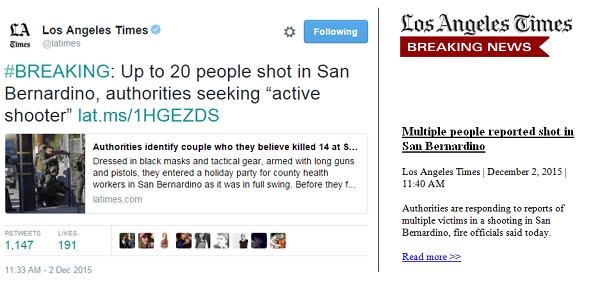 los angeles times breaking news