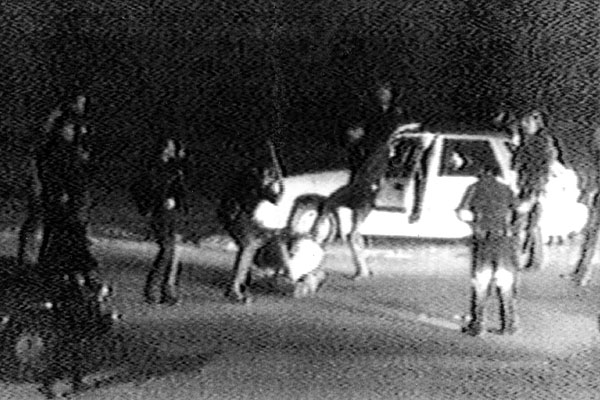 George Holliday videotaped Los Angeles police beating Rodney King in March 1991 in Lake View Terrace.