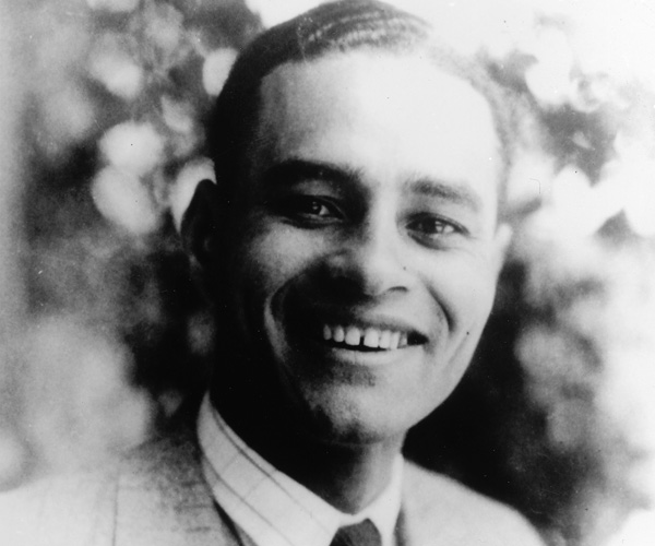 Ralph Bunche as a senior at UCLA in 1927.