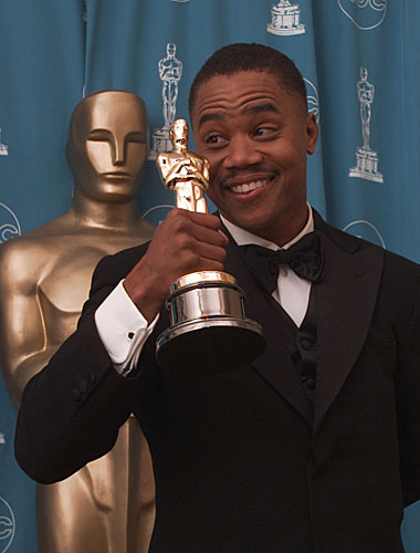 "Cuba Gooding Jr. won for ""Jerry Maguire."""