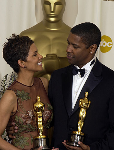 Halle Berry and Denzel Washington