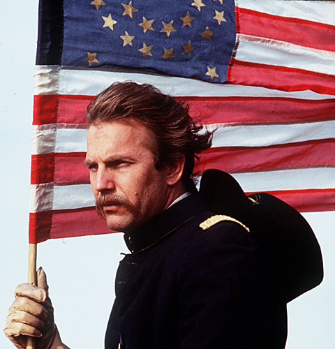 "Kevin Costner in ""Dances With Wolves"""
