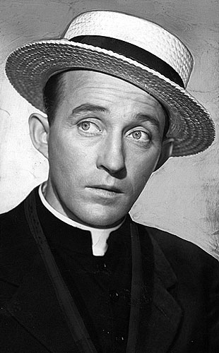 "Bing Crosby as Father O'Malley in ""Going My Way"""