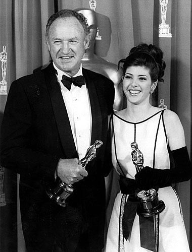 Gene Hackman and Marisa Tomei