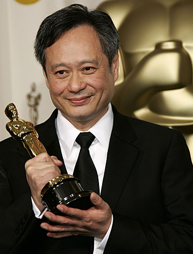"Ang Lee director of ""Brokeback Mountain."""