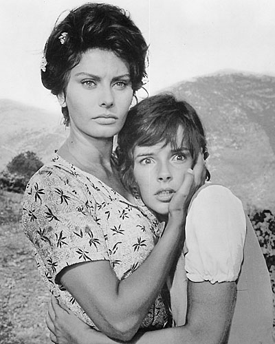 "Sophia Loren, left, in ""Two Women"""