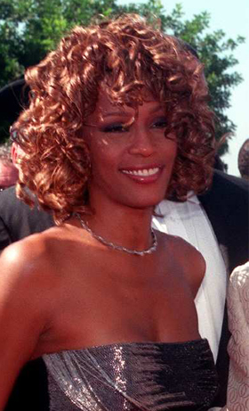 Whitney Houston at the Emmys