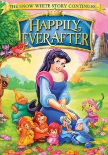 "The film cover of ""Happily Ever After."""