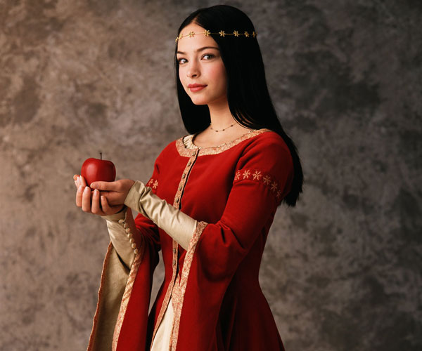 Kristin Kreuk as Snow White.