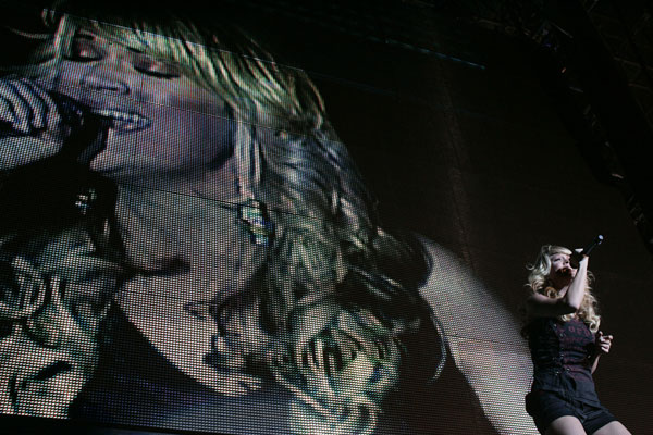 Carrie Underwood at Stagecoach in 2008.