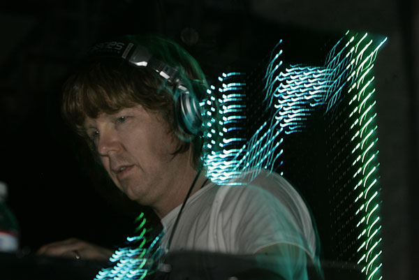 John Digweed of Sasha & Digweed plays Indio in 2008.