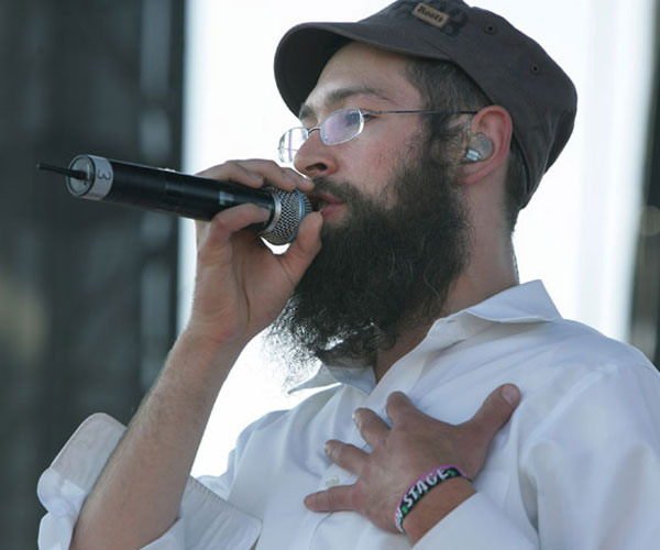 Matisyahu plays Coachella on April 30, 2006