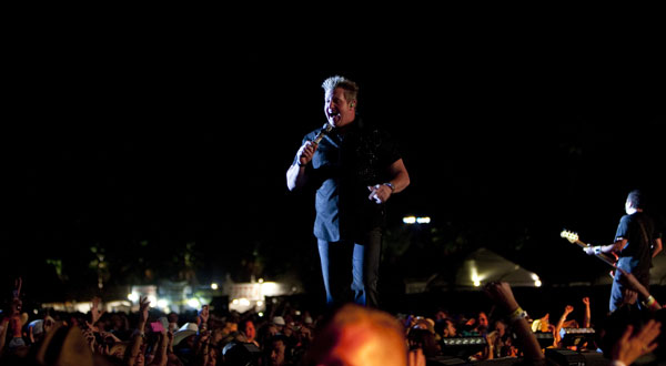 Rascal Flatts on May 1, 2011.