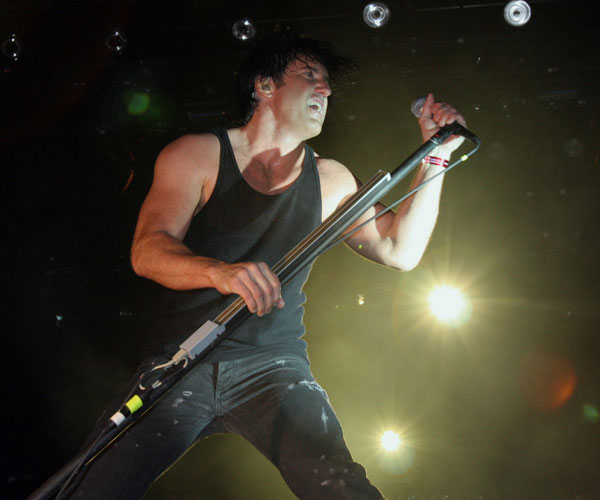 Trent Reznor of Nine Inch Nails on May 1, 2005.