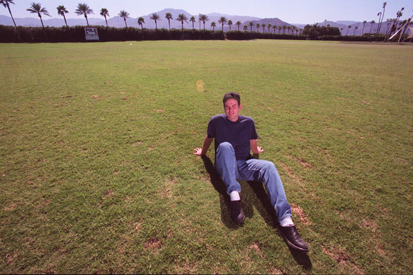 Coachella promoter Paul Tollett in Indio in 1999.