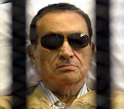 Egyptian officials denied reports that Hosni Mubarak is clinically dead