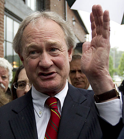 Rhode Island Gov. Lincoln Chafee in May 2012