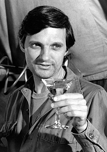 "Alan Alda as Capt. Benjamin Pierce (Hawkeye) in ""MASH."""